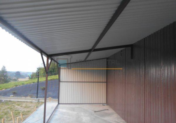 JoAND-STAL. Nietypowe garaże blaszane